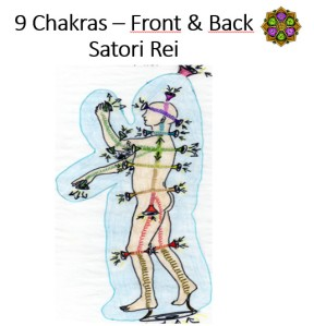9 Chakras – Front & Back Satori Rei