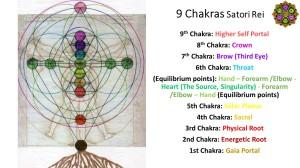 9 Chakras system Satori Rei EN