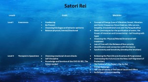 satori levels I to II