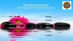 Satori Rei Prices 2015