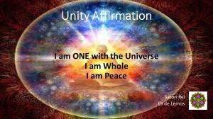 Unity Affirmation - Satori Rei
