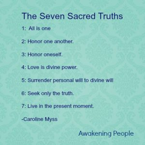 seven sacred truths