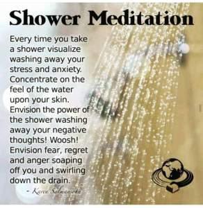 water shower