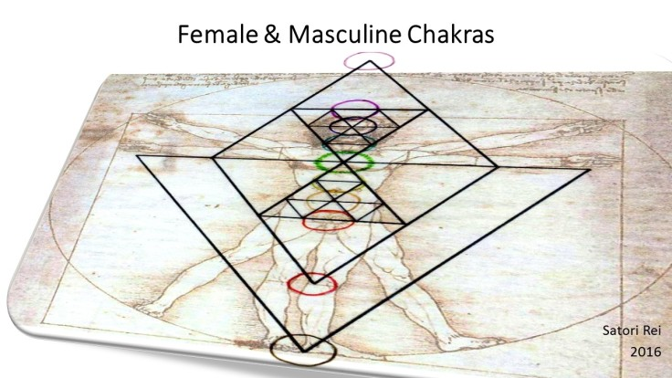 Female & Male Chakras